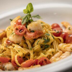 Hotel San Marco - Fettuccina con gamberi e pomodorini
